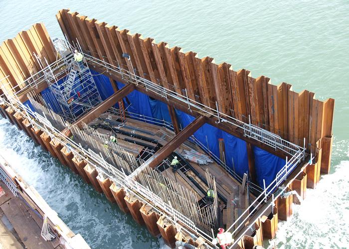 Palancole in costruzione